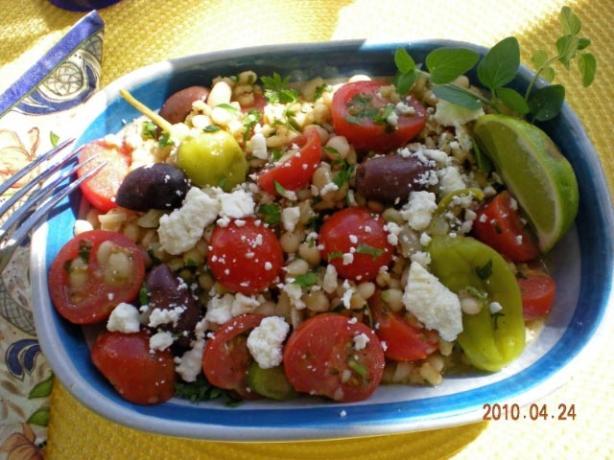 Greek Barley Salad