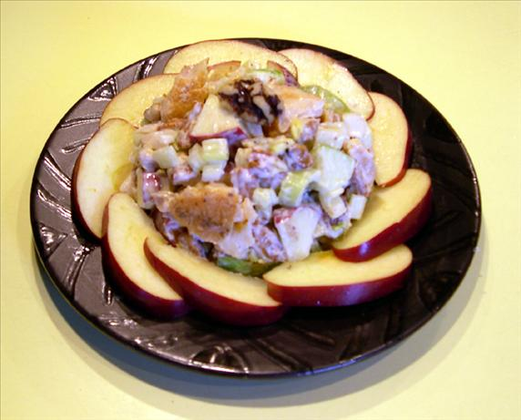 Chunky Fish Salad With Apples and Pecans