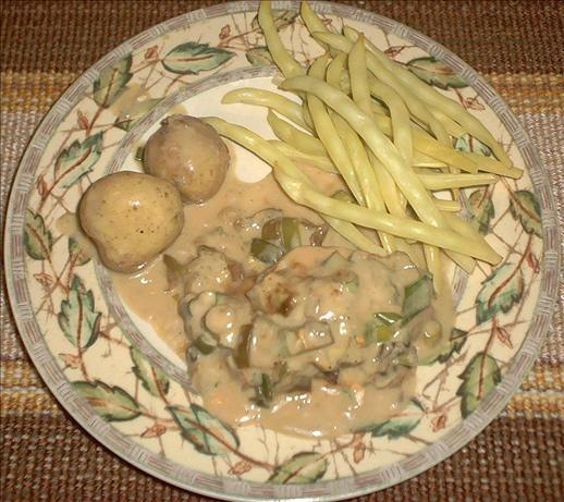 Easy Mushroom Chicken