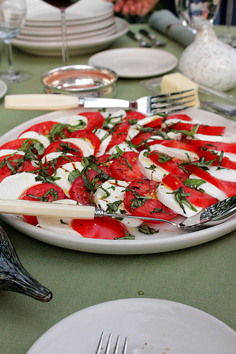 Fresh Mozzarella With Basil