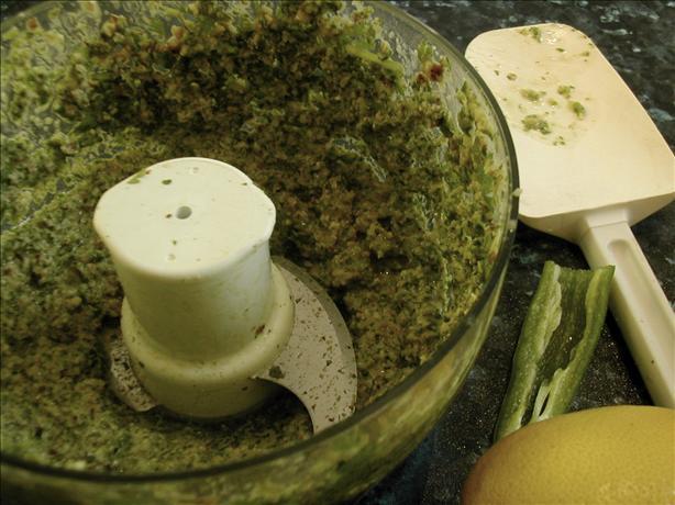 Chatni Gashneez (coriander Chutney)