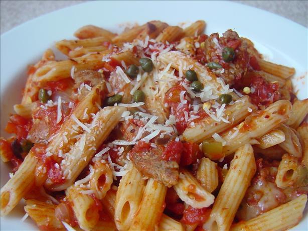 Italian Sausage Puttanesca