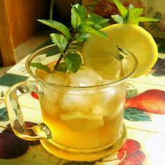 Iced Sweet Mint Tea