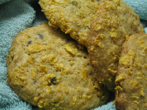 Chocolate Chip Cookies With Corn Flakes