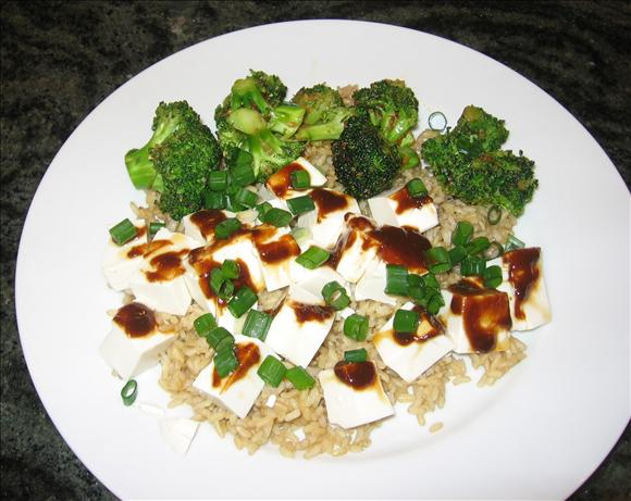 Spiced up Tofu