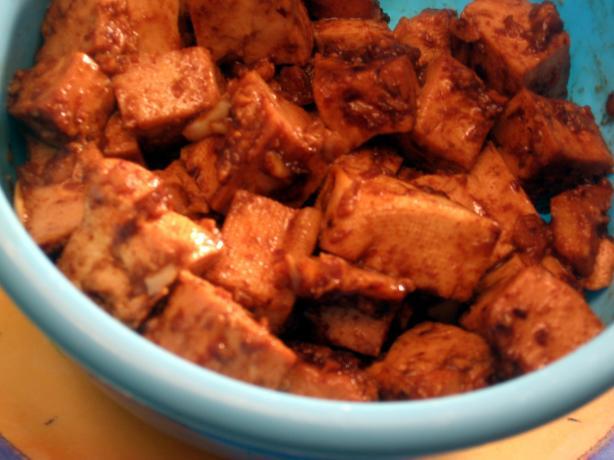 Tofu in a Mild Oriental Sauce