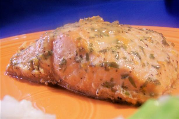 Baked Tarragon Orange Salmon