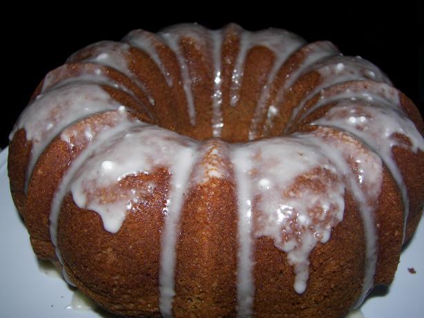 Spice Rum Cake
