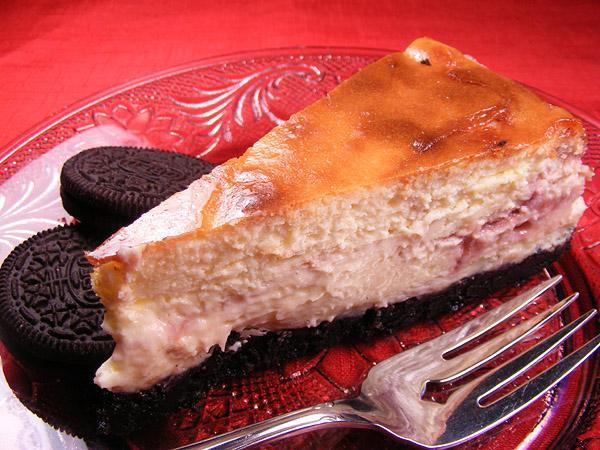 Raspberry Truffle Cheesecake (Copycat)