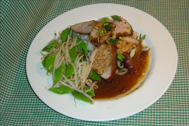 Spicy Chinese Pork Tenderloin