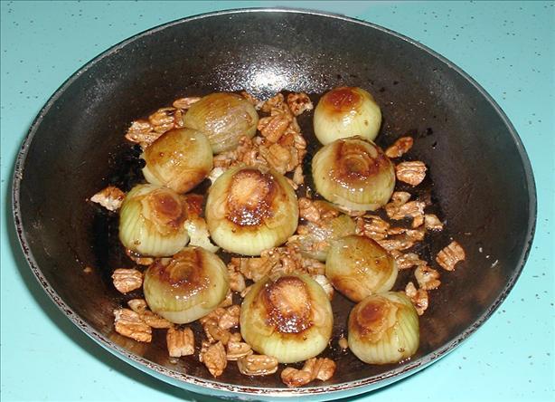 Italian Sweet & Sour Onions