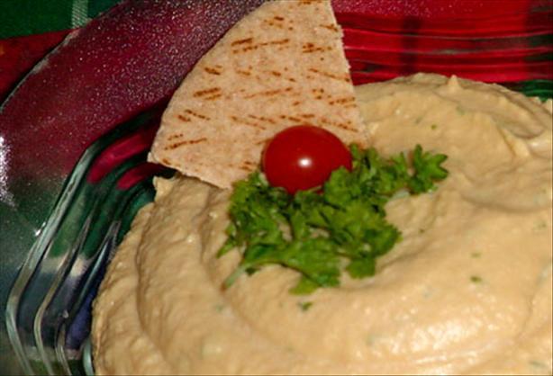 Super Healthy Hummus