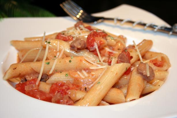 Pink Prosciutto Penne