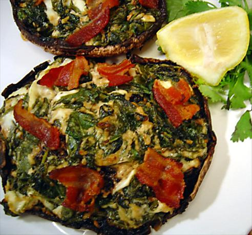 Savory Stuffed Portabellas