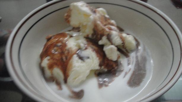 Marshmallow Fudge Ice Cream Topping