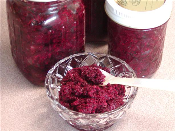 Horseradish Made With Beets --fresh--