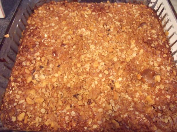 Apple Streusel Cobbler