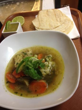 Mexican Fish Soup