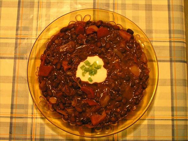 Black Bean and Chocolate Chili