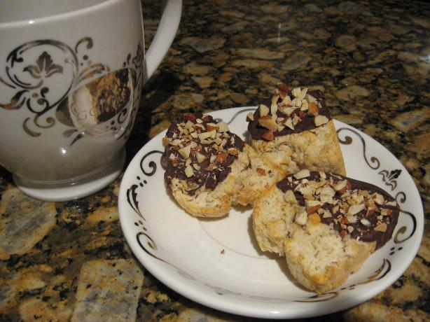 Light Almond Biscotti