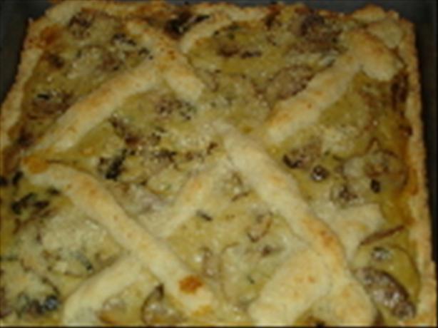 mushroom pie