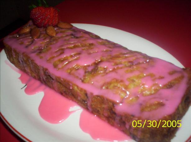 Almond and Strawberry Bread