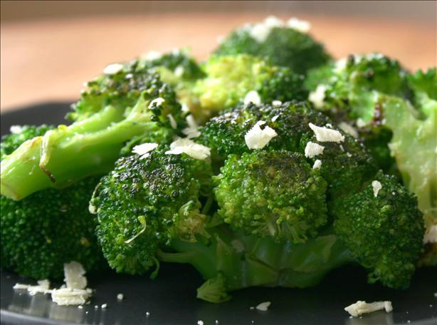 Parmesan Fried Broccoli