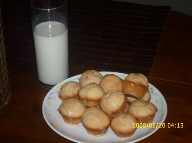 Butter Rum Muffins