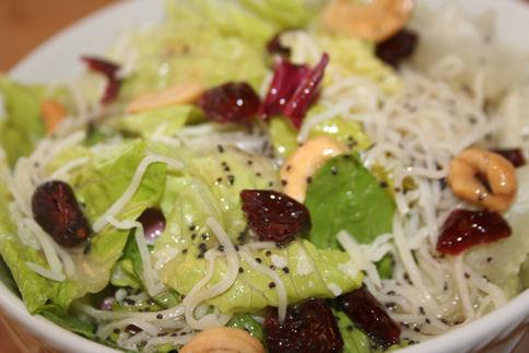 Tossed Salad With Poppy Seed Dressing