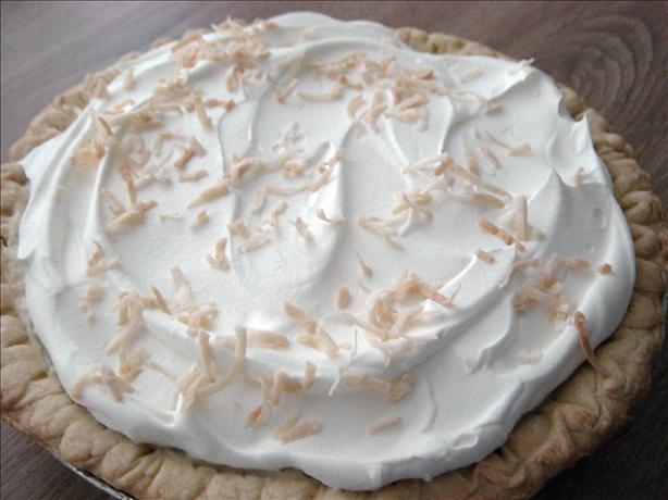 Mounds Coconut Cream Pie