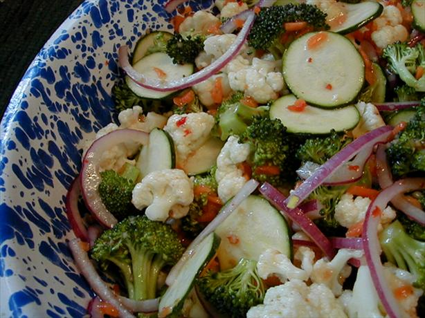 EASIEST Veggie salad