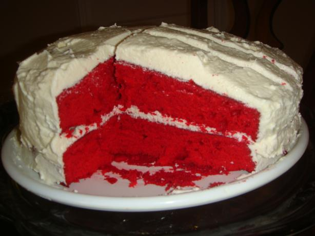 County Fair Red Velvet Cake