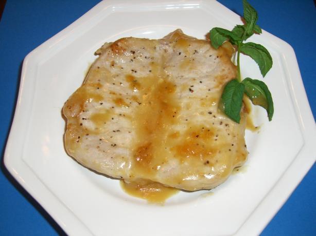 Dijon-Orange Chops