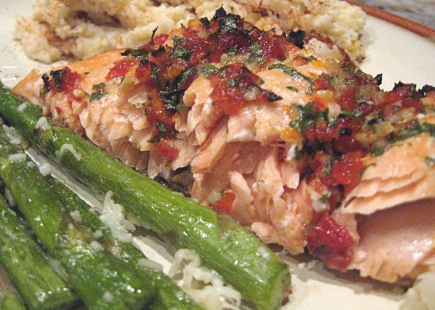 "The ""only"" BBQ Salmon"