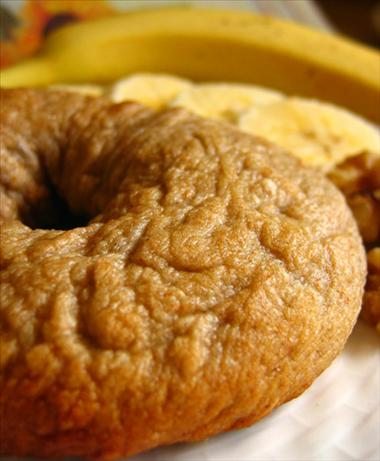 Banana Walnut Bagels