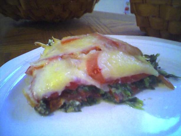 Italian Spinach Bake