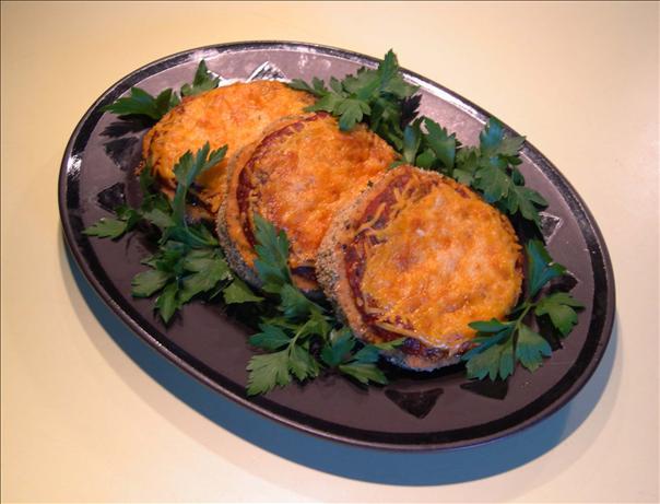 Somewhat Unorthodox Eggplant (Aubergine) Parmesan