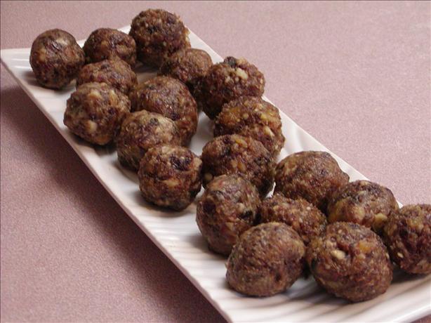 Moroccan Charoset Balls