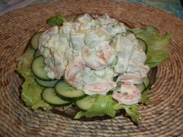 Chilled Shrimp and Avocado Salad
