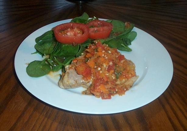 Pork Chops Ossobuco-Style