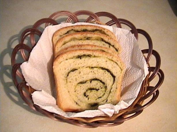 Spiral Herb Potato Bread (Bread Machine)