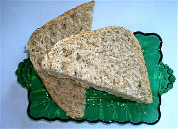Whole Wheat Zucchini Herb Bread-Bread Machine