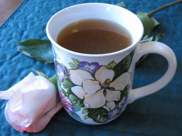 Spiced Honey Tea