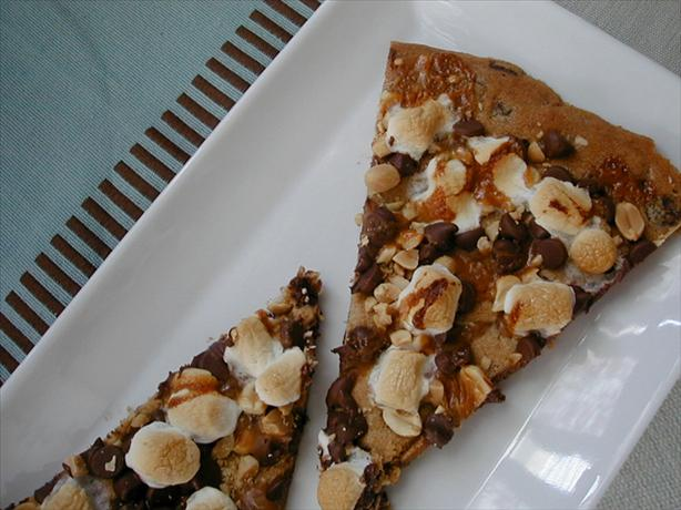 Rocky Road Cookie Pizza
