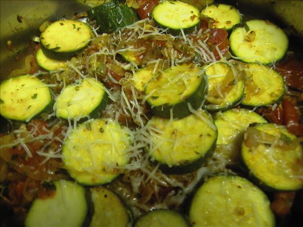 Zucchini Marinara - Diabetic