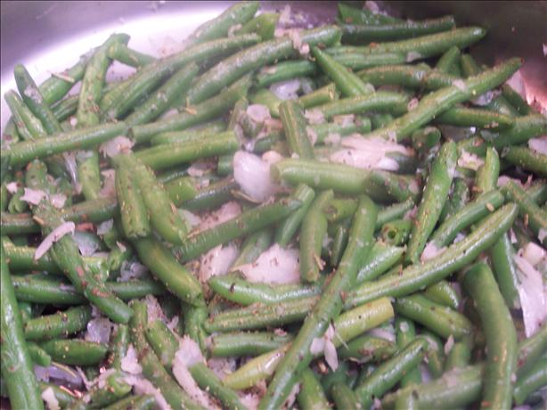 Green Beans with herbs