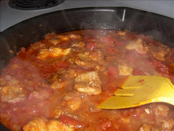 Chili and Beer-Braised Catfish