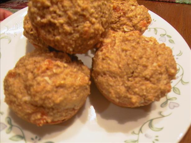 Apricot Bran Muffins Fat Free