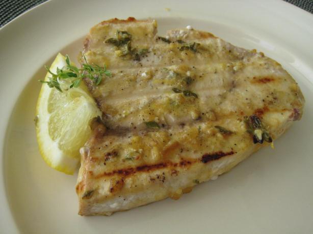 Lemon Thyme Swordfish