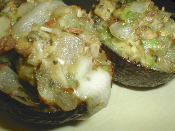 Baked Stuffed Avocado